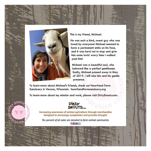 Michael the goat info sheet